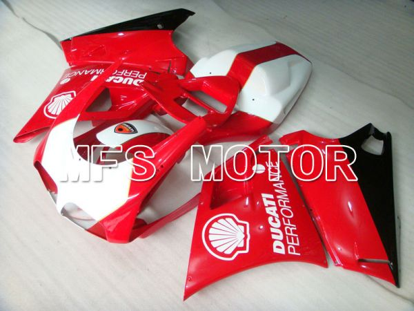 Ducati 748 / 998 / 996 1994-2002 Injection ABS Fairing - Performance - Red White - MFS3925