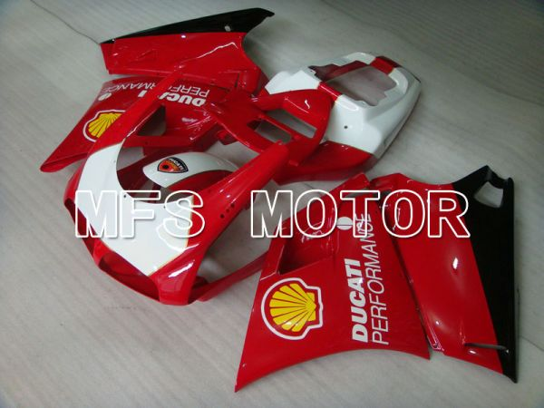 Ducati 748 / 998 / 996 1994-2002 Injection ABS Fairing - Performance - Red White - MFS3928