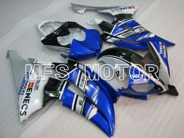 Yamaha YZF-R6 2008-2016 Injection ABS Fairing - Monster - Blue Black - MFS3931