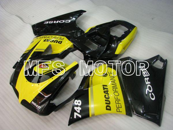 Ducati 748 / 998 / 996 1994-2002 Injection ABS Fairing - Performance - Yellow Black - MFS3934