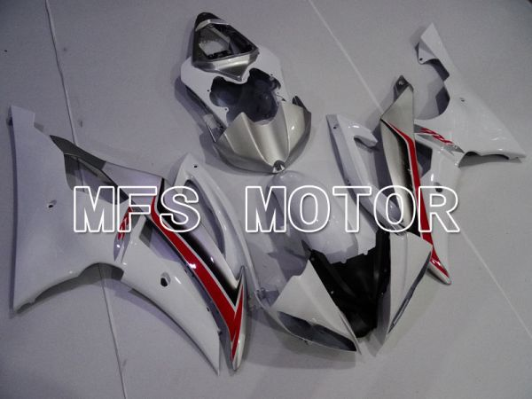 Yamaha YZF-R6 2008-2016 Injection ABS Fairing - Factory Style - White - MFS3937