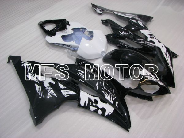 Yamaha YZF-R6 2008-2016 Injection ABS Fairing - Factory Style - Black White - MFS3938