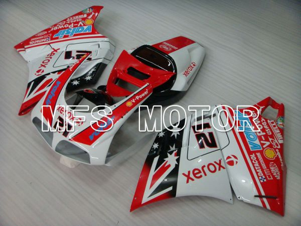 Ducati 748 / 998 / 996 1994-2002 Injection ABS Fairing - Xerox - Red White - MFS3946