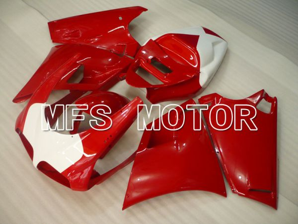 Ducati 748 / 998 / 996 1994-2002 Injection ABS Fairing - Factory Style - Red White - MFS3966