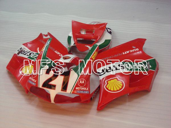 Ducati 748 / 998 / 996 1994-2002 Injection ABS Fairing - INFO STRADA - Red - MFS3972