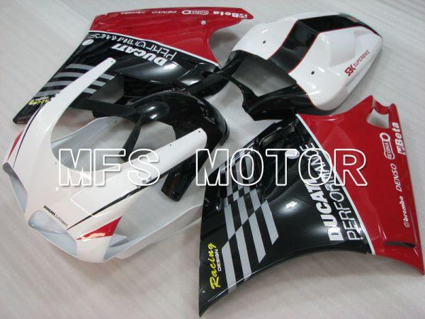 Ducati 748 / 998 / 996 1994-2002 Injection ABS Fairing - Performance - White Black - MFS3984