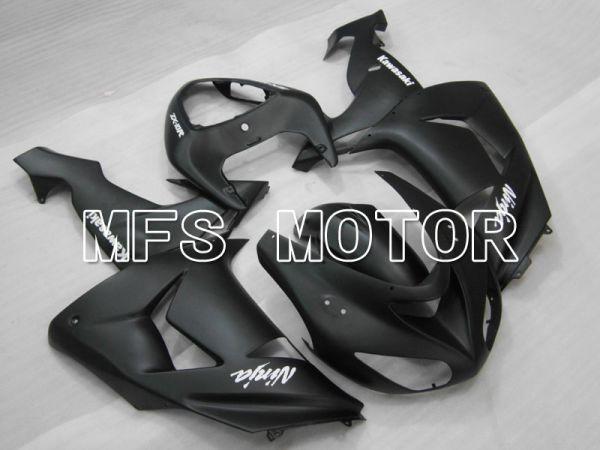 Kawasaki NINJA ZX10R 2006-2007 Injection ABS Fairing - Factory Style - Black - MFS3991