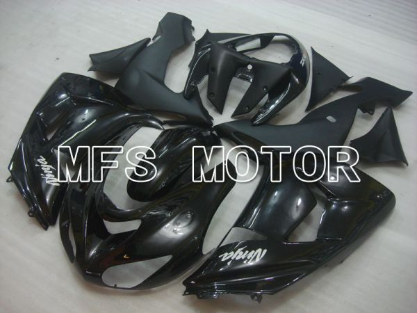 Kawasaki NINJA ZX10R 2006-2007 Injection ABS Fairing - Factory Style - Black - MFS3994