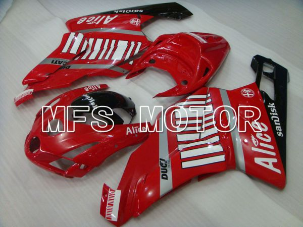 Ducati 749 / 999 2003-2004 Injection ABS Fairing - Alice - Red Black - MFS3998
