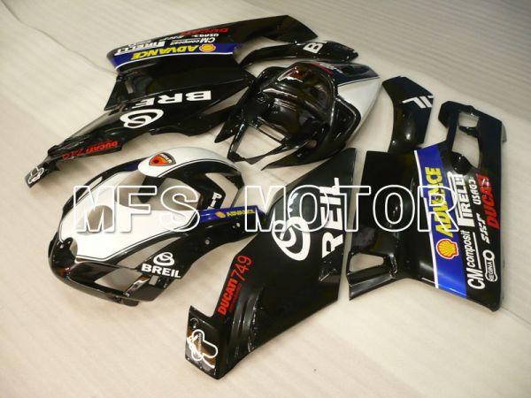 Ducati 749 / 999 2003-2004 Injection ABS Fairing - BREIL - White Black - MFS4001