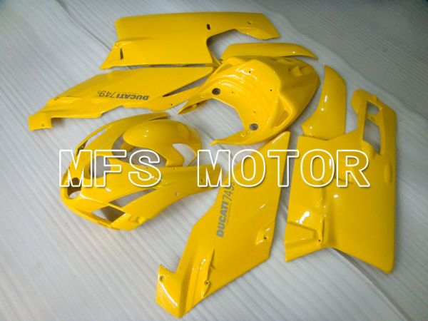 Ducati 749 / 999 2003-2004 Injection ABS Fairing - Factory Style - Yellow - MFS4004