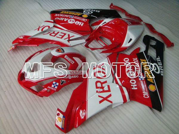 Ducati 749 / 999 2003-2004 Injection ABS Fairing - Xerox - Red White - MFS4014