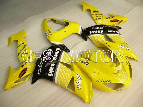 Kawasaki NINJA ZX10R 2006-2007 Injection ABS Fairing - Factory Style - Black Yellow - MFS4017
