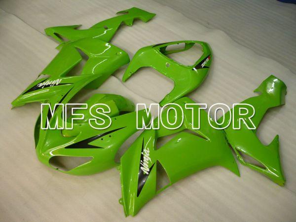 Kawasaki NINJA ZX10R 2006-2007 Injection ABS Fairing - Factory Style - Green - MFS4019
