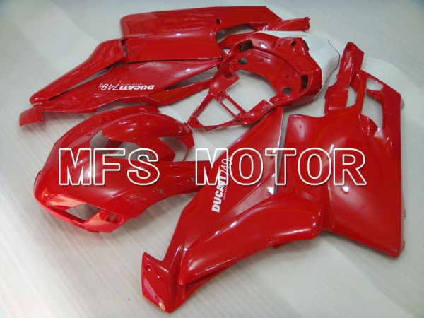 Ducati 749 / 999 2005-2006 Injection ABS Fairing - Factory Style - Red - MFS4049