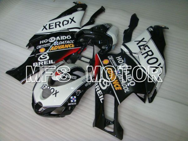Ducati 749 / 999 2005-2006 Injection ABS Fairing - Xerox - Black White - MFS4059