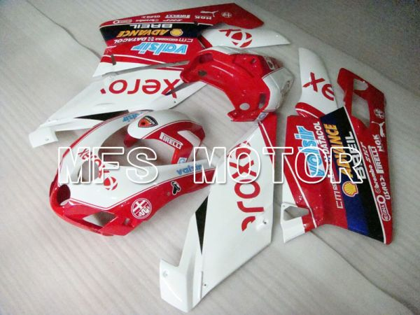 Ducati 749 / 999 2005-2006 Injection ABS Fairing - Xerox - Red White - MFS4062