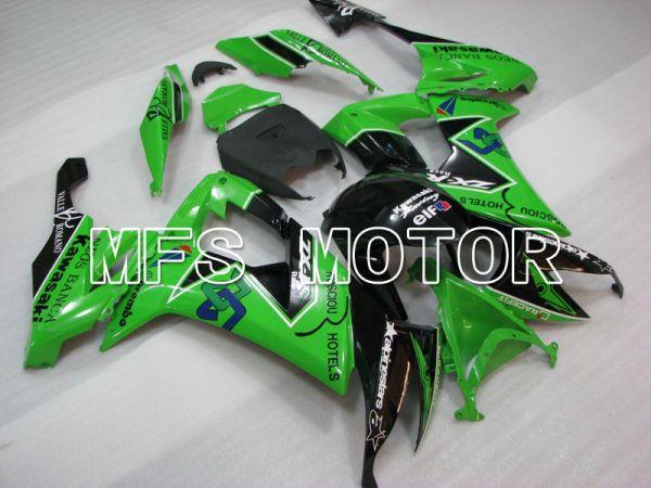 Kawasaki NINJA ZX10R 2008-2010 Injection ABS Fairing - Others - Black Green - MFS4068