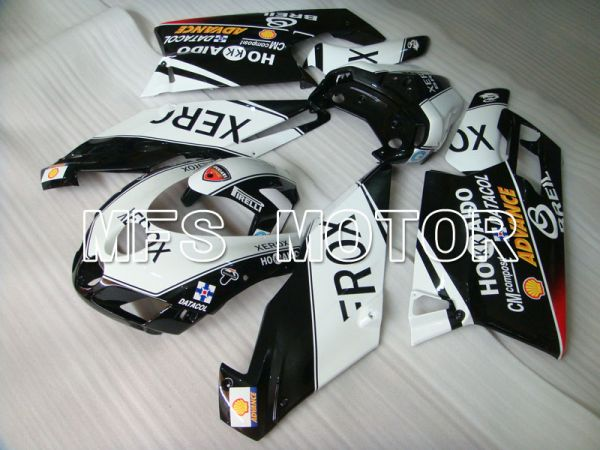 Ducati 749 / 999 2005-2006 Injection ABS Fairing - Xerox - Black White - MFS4069