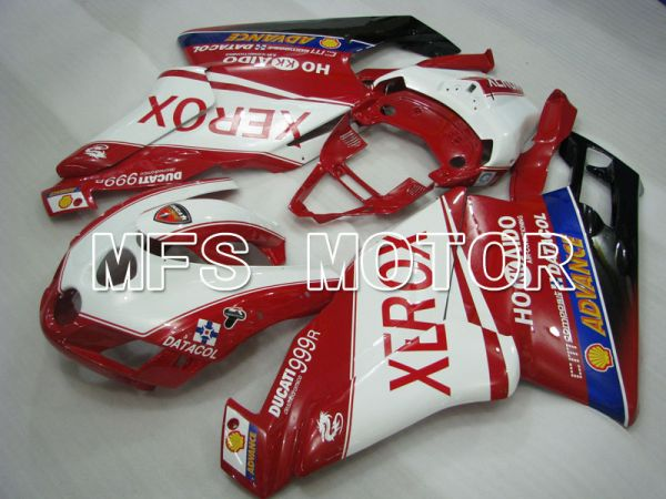 Ducati 749 / 999 2005-2006 Injection ABS Fairing - Xerox - Red White - MFS4072