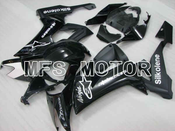 Kawasaki NINJA ZX10R 2008-2010 Injection ABS Fairing - Factory Style - Black - MFS4073