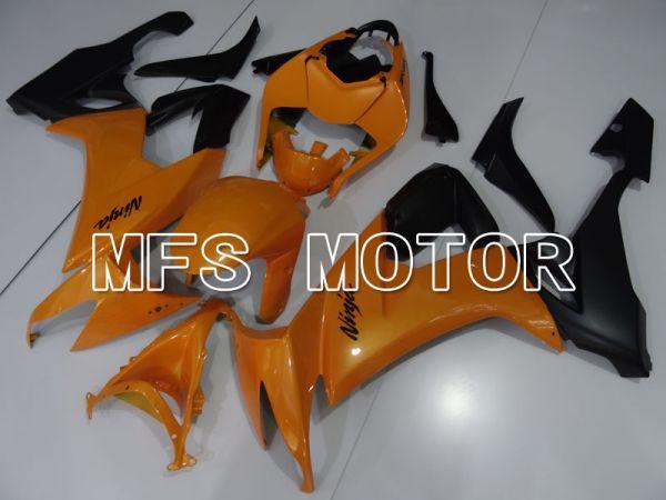Kawasaki NINJA ZX10R 2008-2010 Injection ABS Fairing - Factory Style - Black Orange - MFS4075