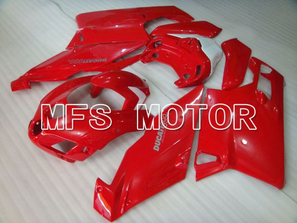 Ducati 749 / 999 2005-2006 Injection ABS Fairing - Factory Style - Red - MFS4086