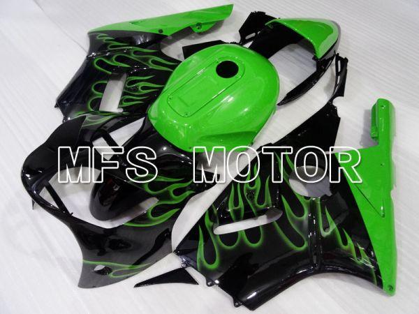Kawasaki NINJA ZX12R 2000-2001 Injection ABS Fairing - Flame - Black Green - MFS4101