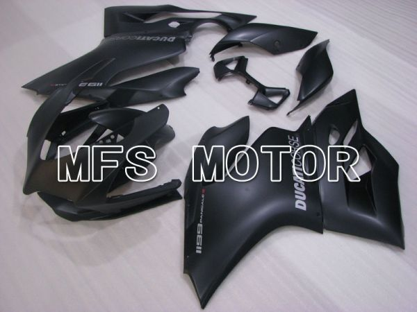 Ducati 1199 2011-2014 Injection ABS Fairing - Factory Style - Black Matte - MFS4111