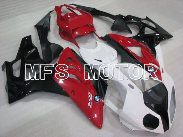 BMW S1000RR 2009-2014 Injection ABS Fairing - Factory Style - Black White Red - MFS4158