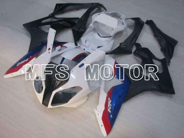 BMW S1000RR 2009-2014 Injection ABS Fairing - Factory Style - Black White Matte - MFS4163