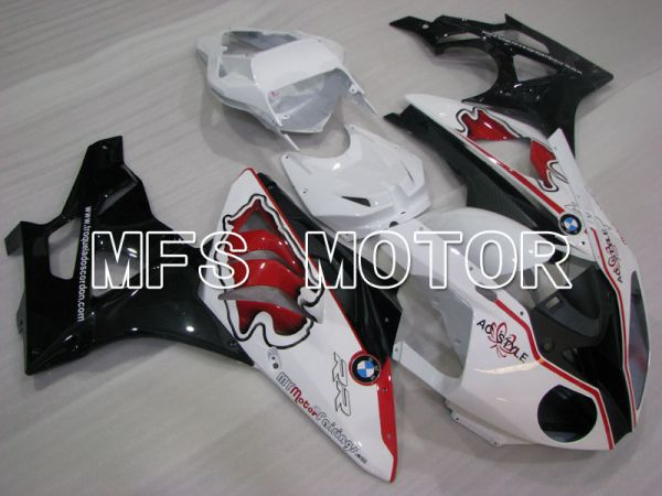 BMW S1000RR 2009-2014 Injection ABS Fairing - Factory Style - Black White - MFS4165