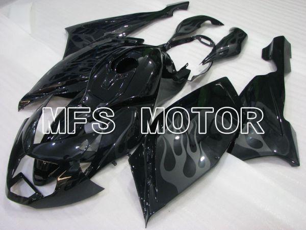 BMW K1200S 2005-2008 ABS Fairing - Flame - Black - MFS4173