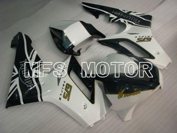 Triumph Daytona 675 2006-2008 Injection ABS Fairing - Factory Style - Black White - MFS4196