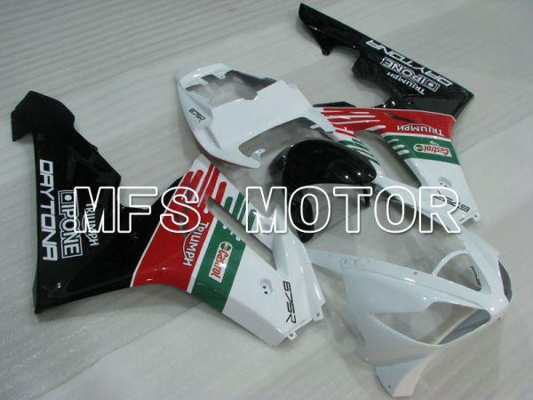 Triumph Daytona 675 2006-2008 Injection ABS Fairing - Castrol - Red White Green - MFS4201
