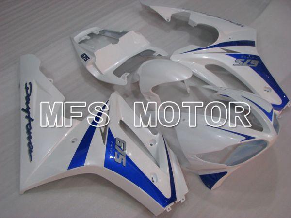 Triumph Daytona 675 2009-2012  Injection ABS Fairing - Factory Style - Blue White - MFS4216