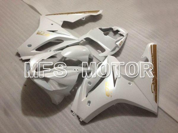 Triumph Daytona 675 2009-2012  Injection ABS Fairing - Factory Style - White - MFS4221
