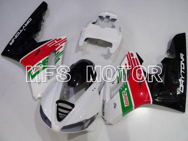 Triumph Daytona 675 2009-2012  Injection ABS Fairing - Castrol - Red Green White - MFS4224