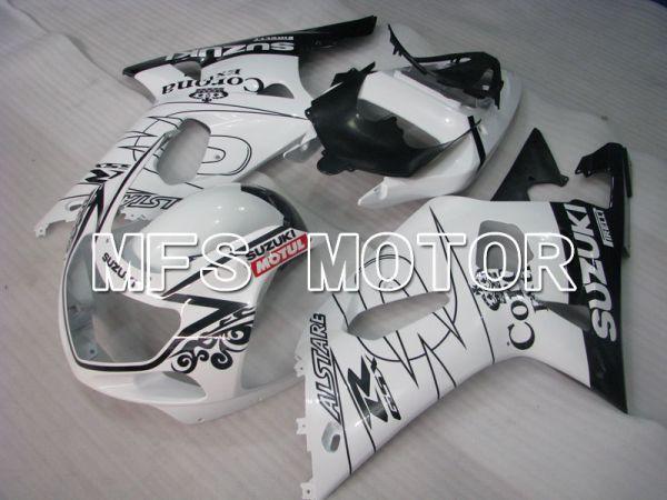 Suzuki GSXR1000 2000-2002 Injection ABS Fairing - MOTUL - Black White - MFS4243