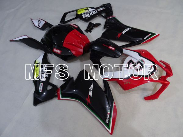Aprilia RS125 2012-2014 Injection ABS Fairing - Others - Black Red - MFS4266