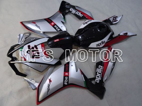 Aprilia RS125 2012-2014 Injection ABS Fairing - Others - Black Silver - MFS4275