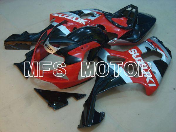 Suzuki GSXR1000 2000-2002 Injection ABS Fairing - Factory Style - Black Red - MFS4288