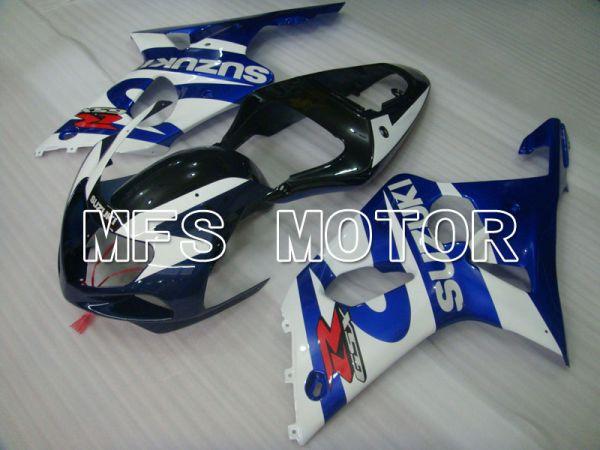 Suzuki GSXR1000 2000-2002 Injection ABS Fairing - Factory Style - Blue White - MFS4292