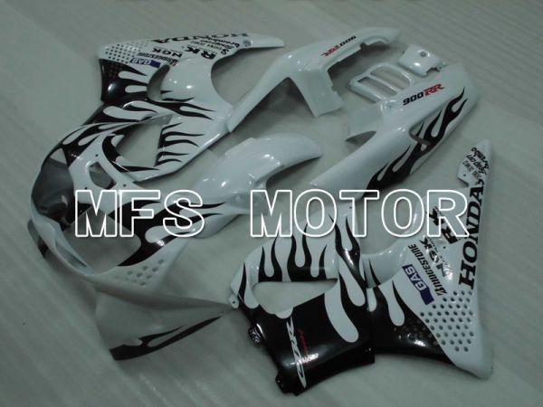 Honda CBR900RR 893 1994-1995 ABS Fairing - Flame - Black White - MFS4297