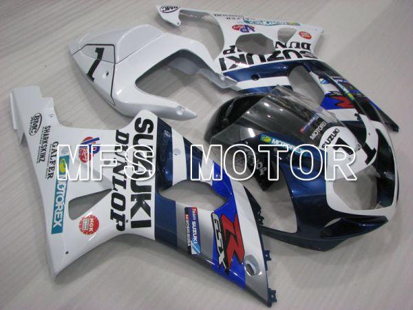 Suzuki GSXR1000 2000-2002 Injection ABS Fairing - DUNLOP - Blue White - MFS4298