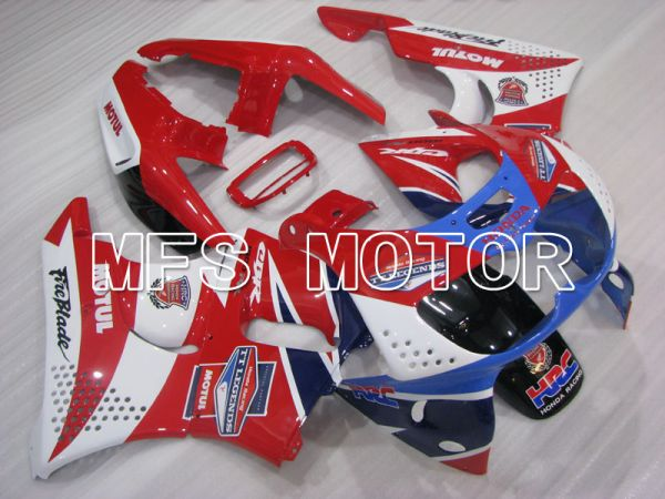 Honda CBR900RR 893 1994-1995 ABS Fairing - MOTUL - Red White - MFS4310