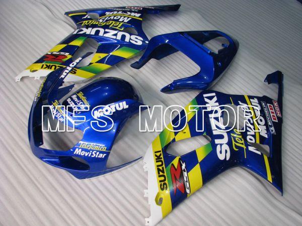 Suzuki GSXR1000 2000-2002 Injection ABS Fairing - Movistar - Blue Yellow - MFS4313