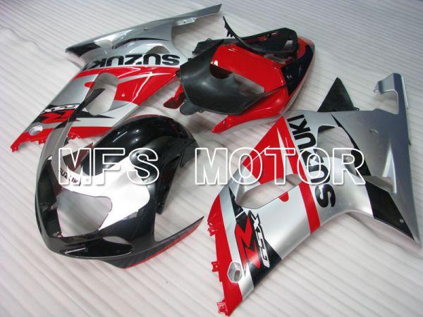 Suzuki GSXR1000 2000-2002 Injection ABS Fairing - Factory Style - Red Silver - MFS4315