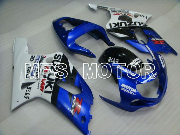 Suzuki GSXR1000 2000-2002 Injection ABS Fairing - MOTUL - Blue White - MFS4322