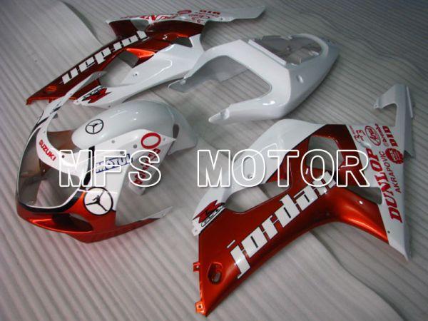 Suzuki GSXR1000 2000-2002 Injection ABS Fairing - Jordan - Orange White - MFS4326